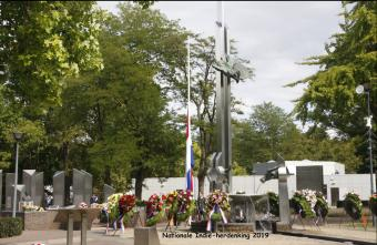32e herdenking Nationaal Indië-Monument in Roermond